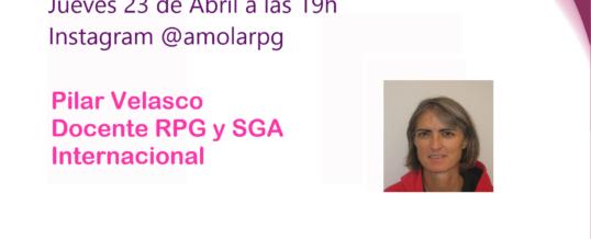 Entrevista en Instagram a Pilar Velasco