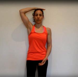 Vídeo de Rebeca Fernandez - De pie contra la pared